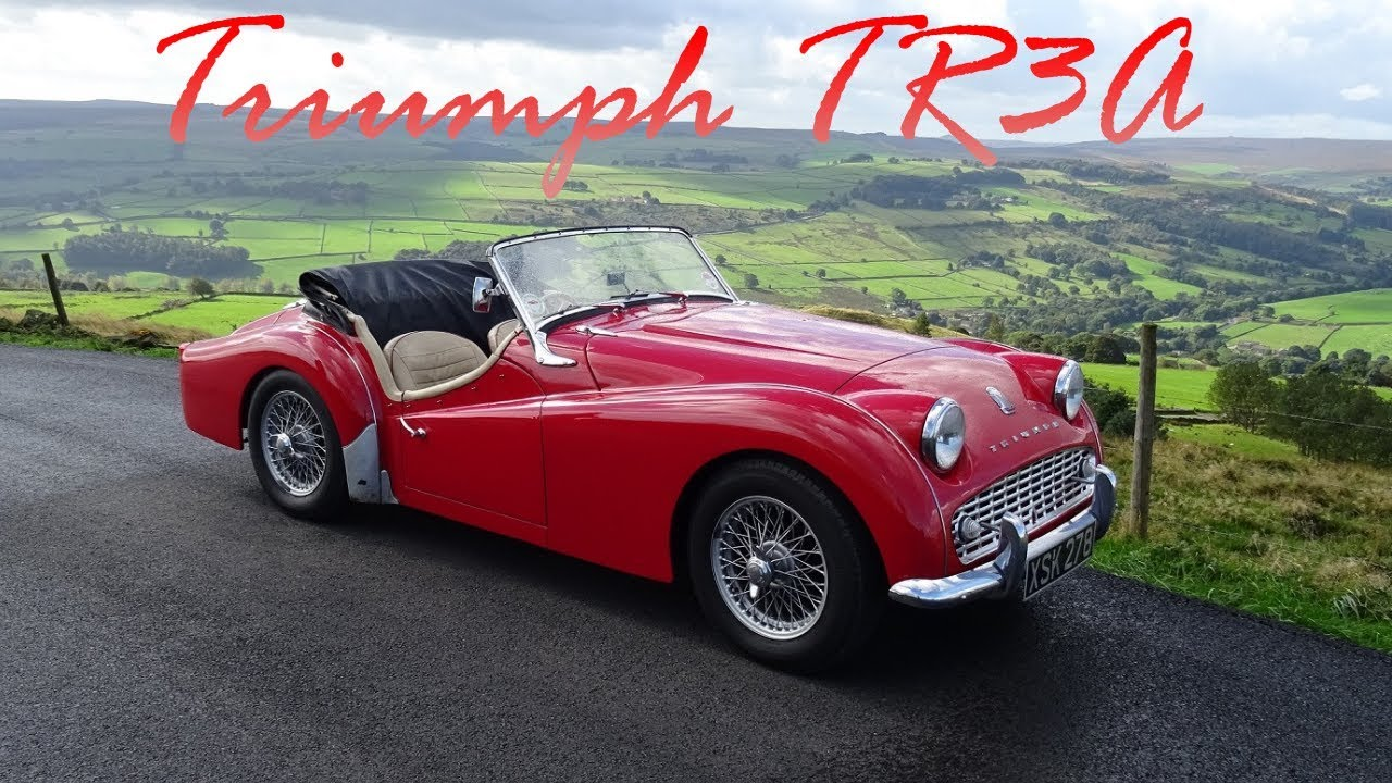triumph tr3a 1959 youtube. Black Bedroom Furniture Sets. Home Design Ideas