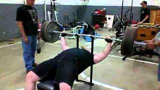 405lbs (183.7kg) Max Bench Press