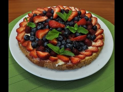 Рецепт тирольского пирога с ягодами