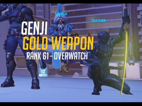 GOLDEN GENJI WEAPON - First Game w/ New Gold Weapon