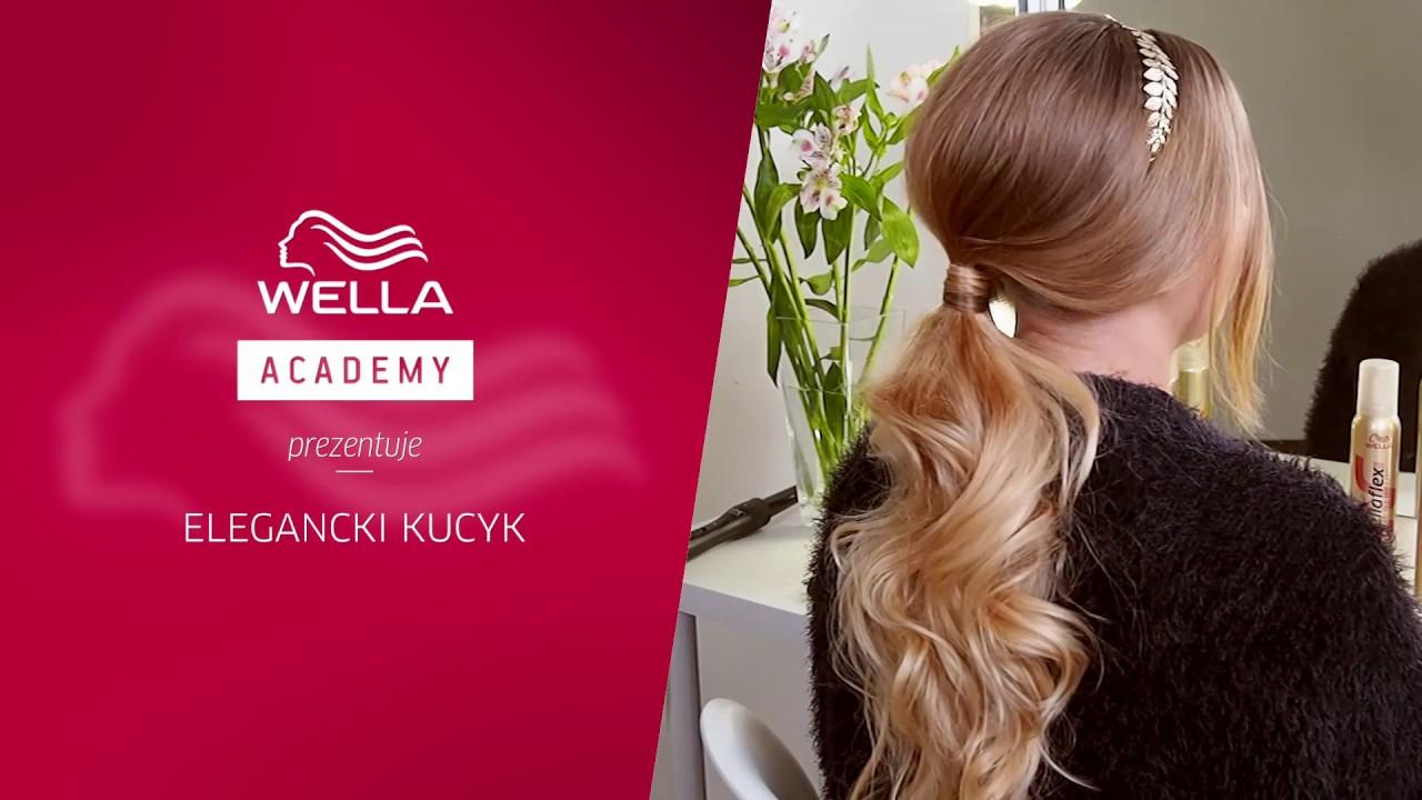 Jak Upiąć Wieczorowego Kucyka Tutorial Hair Coach Wella Polska