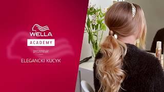 Jak upiąć wieczorowego kucyka Tutorial Hair Coach Wella Academy Polska
