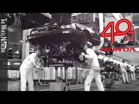 Honda Celebrates 40 Years of Manufacturing in America