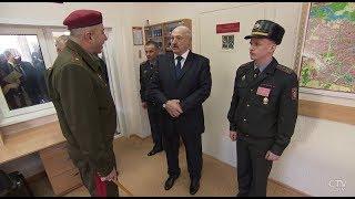 Александр Лукашенко посетил войсковую часть 5448 | Условия службы и быта в армии РБ | Репортаж СТВ