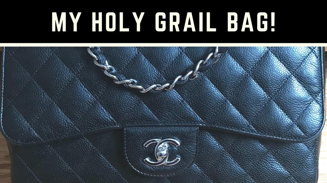 298278653a55 Chanel Jumbo Single Flap | Fashionphile Unboxing | Leather Surgeons