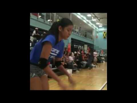 Alyssa & Grethcel's Courtside Volleyball Game in London [Part 3]
