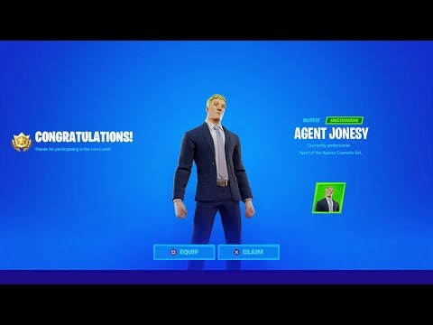 Fortnite Live Event (FREE SKIN)