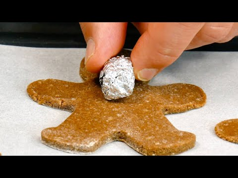 Put-Tin-Foil-Balls-On-Dough-Pop-It-In-The-Oven-6-Super-Original-Christmas-Cookie-Recipes