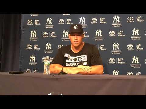 Yankees' Aaron Judge on 1st start since broken wrist