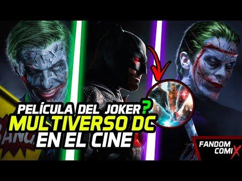 Película Joker: Orígenes - Confirmado Multiverso cinematográfico de DC