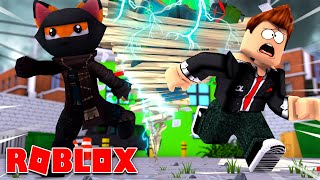 ESCAPE THE GIANT KILLER TORNADO?! - ROBLOX [English/HD]