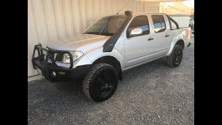 (SOLD)4x4 Twin cab Turbo Diesel Ute Nissan Navara D40 2006 review