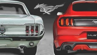 MUSTANG 1968 CZY MUSTANG 2015?