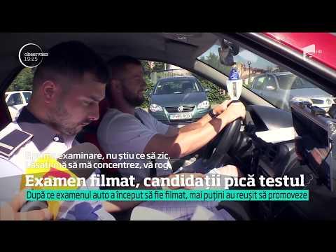 Tehnologia ne las fr permis. Românii pic în mas examenul auto, de când poliitii fil