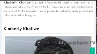 Download Kimberly Kholiwe Biography Wikipedia Wiki Age