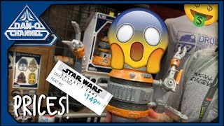 Galaxy's Edge Prices! Official prices from Disney for Star Wars Galaxy's Edge merch!