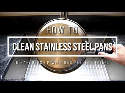 The Best Product for Cleaning Stainless Steel Pots & Pans