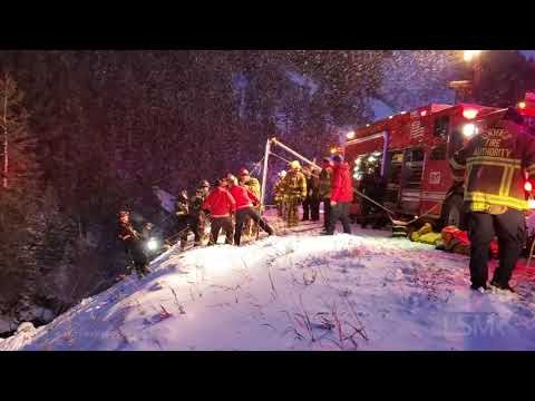 11-27-2019 Big Cottonwood Canyon, Utah Heavy Rescue Rollover