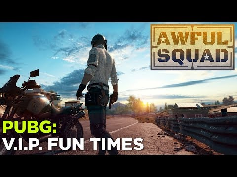 AWFUL SQUAD: VIP with Griffin, Justin, Russ and Special Guest Dan Ryckert