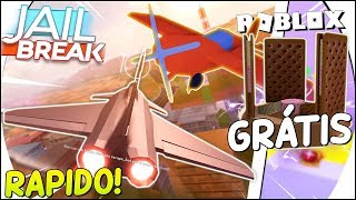 NEW INSANE JET! On JAILBREAK, FREE ITEM CODE and NEW MAD CITY ROBBERY at ROBLOX 😱