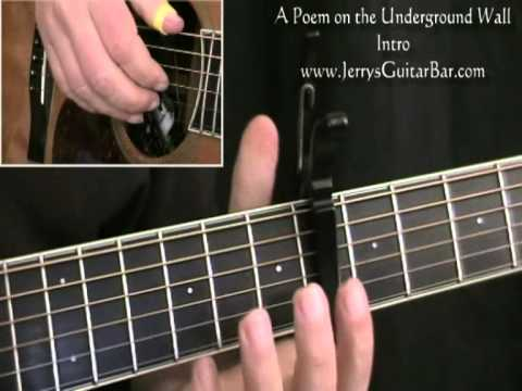 How to Play Simon & Garfunkel A Poem on the Underground Wall (intro only)