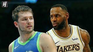 Dallas Mavericks Vs Los Angeles Lakers   Full  Highlights | December 1, 2019 | 2019 20 Nba Season