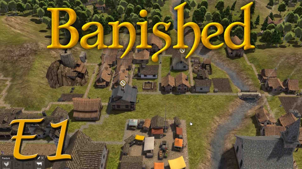 how to get started with banished