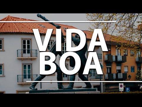 Vale a pena viver em Portugal?  (rolê em Fafe)