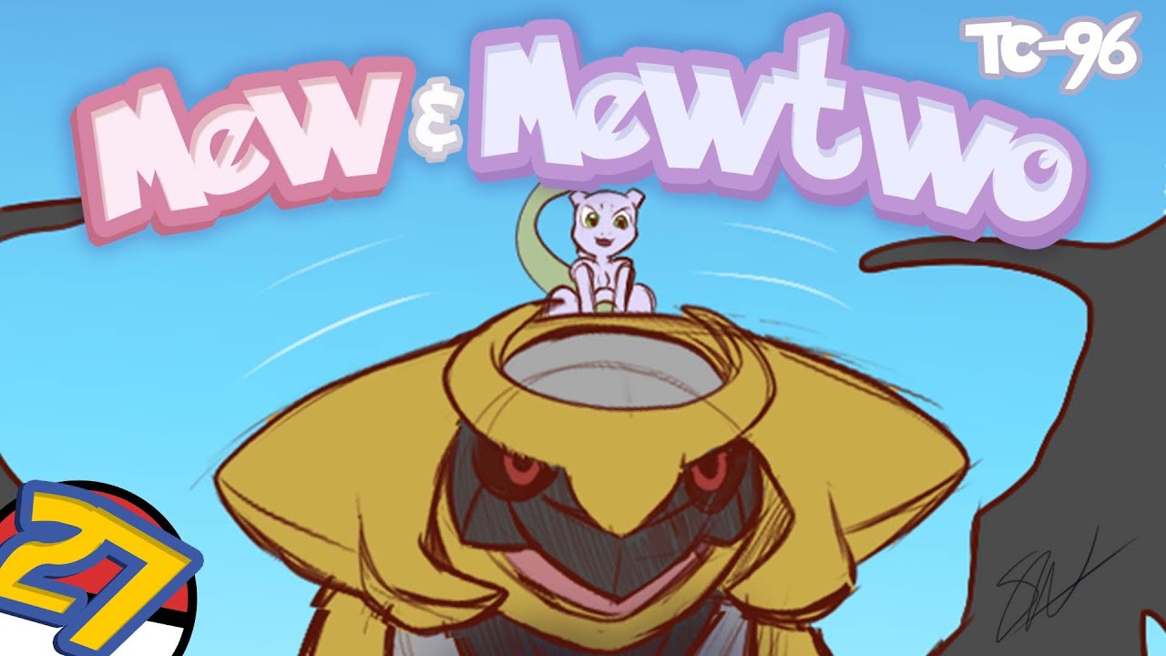 Download Mew & Mewtwo by TC-96 [Comic Drama Part #27]