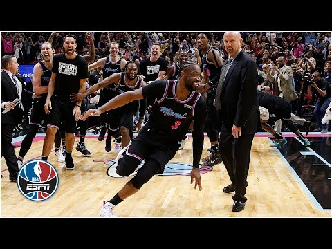 Dwyane Wade's clutch shot ends Warriors' comeback bid | NBA Highlights