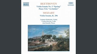 "Violin Sonata No. 5 in F Major, Op. 24 ""Spring"": II. Adagio molto espressivo"