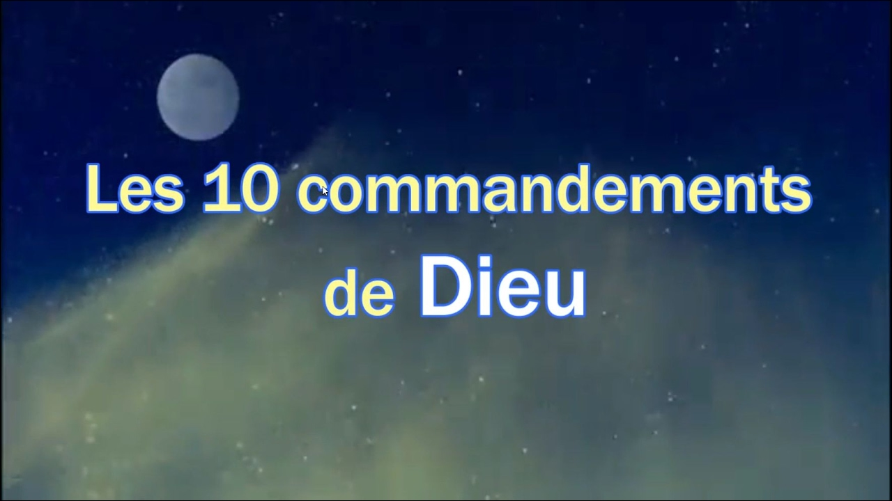 les 10 commandements de dieu et plus encore youtube. Black Bedroom Furniture Sets. Home Design Ideas