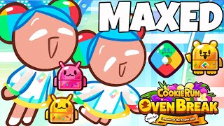 CROB NEW COOKIEDROID MAXED CookieRun Ovenbreak