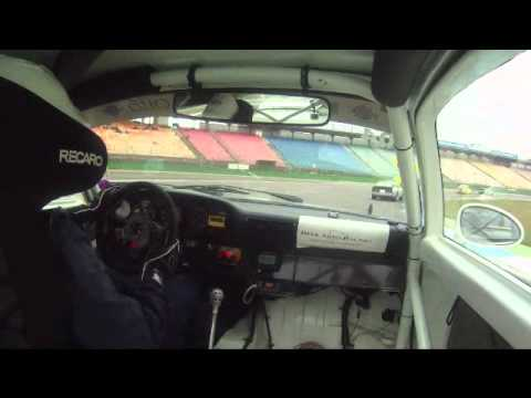 Porsche 964RS in YTCC race Hockenheim 2012