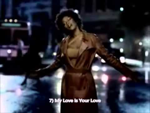Top 20 Whitney Houston Songs