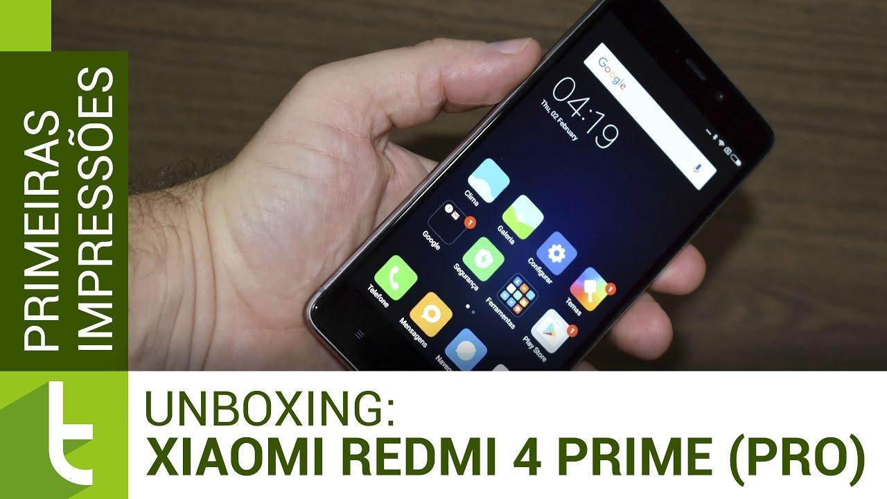 Unboxing E Primeiras Impressões Do Xiaomi Redmi Note 4