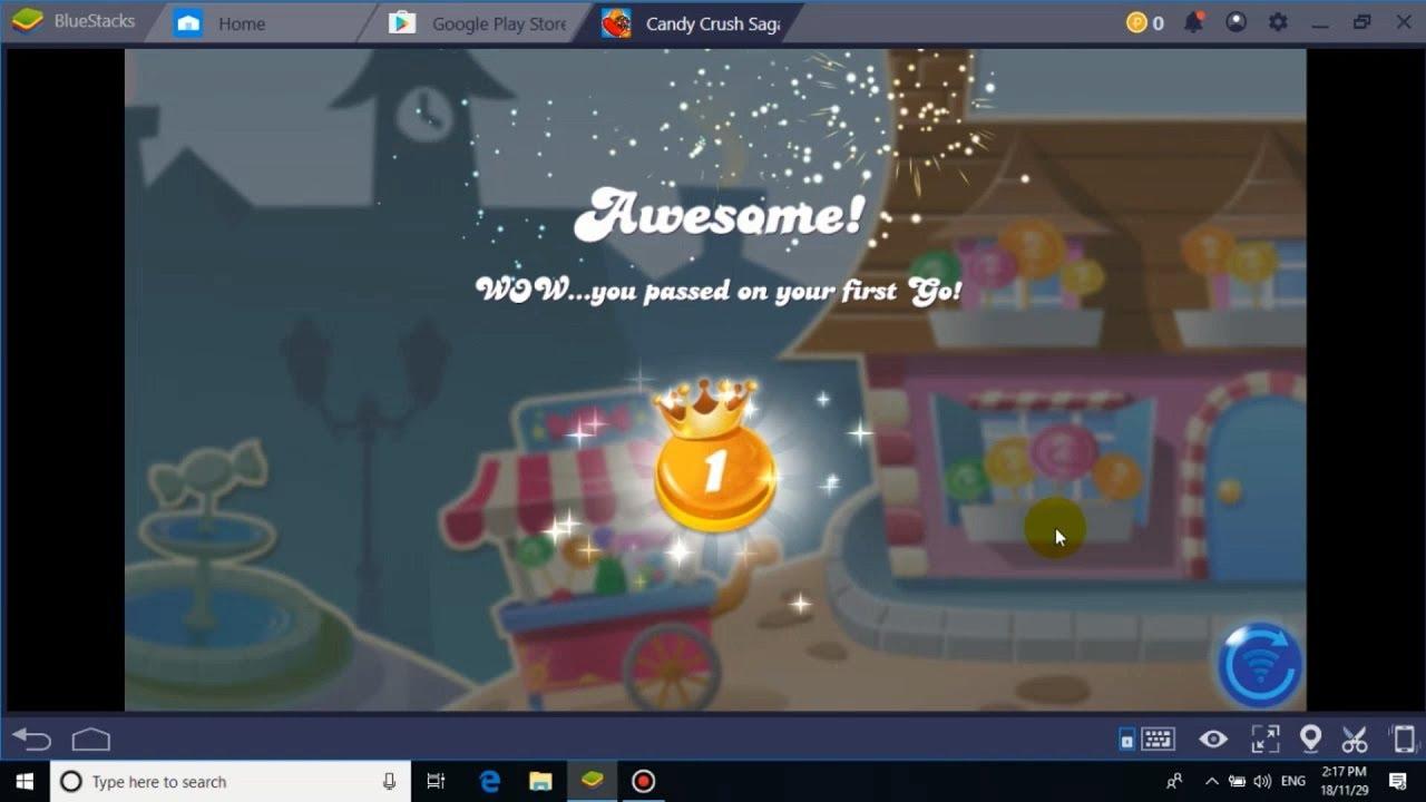 Candy Crush Saga best game play - [ on pc ]- 4k