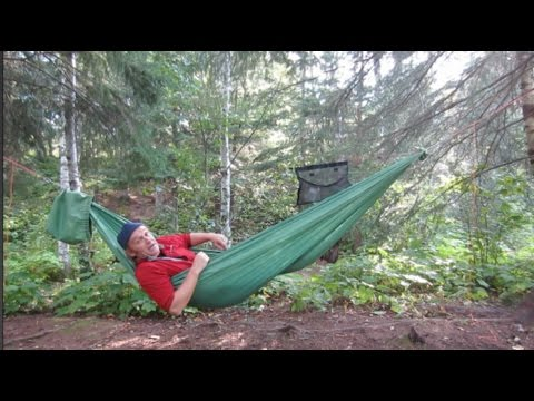 Hammock Happiness on the Superior Hiking Trail, Minnesota PART 1