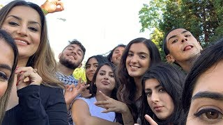 Celebrating Eid with our family + Going to a Wiz Khalifa and French Montana Concert