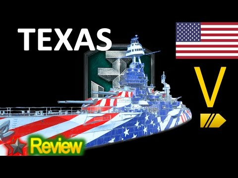 World of Warships - Texas - Replay/Review
