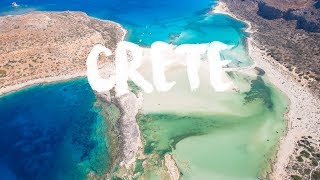 CRETE | KRETA, Greece | Beautiful Beaches Aerial Drone 4K by thedronebook