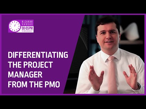 Videocast - Differentiating the Project Manager from the PMO
