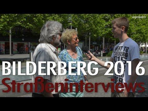 Bilderberger Konferenz 2016 in Dresden - Straßeninterviews