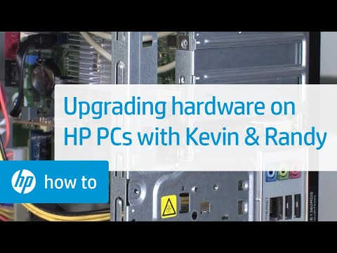 Upgrading Hardware On HP PCs - From The Desktop With Kevin & Randy | HP Computers | HP