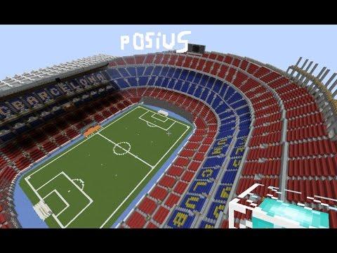 ✔ Minecraft PE | Camp Nou Stadium + Download LINK