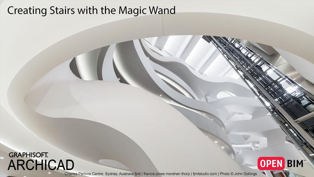 archicad magic wand