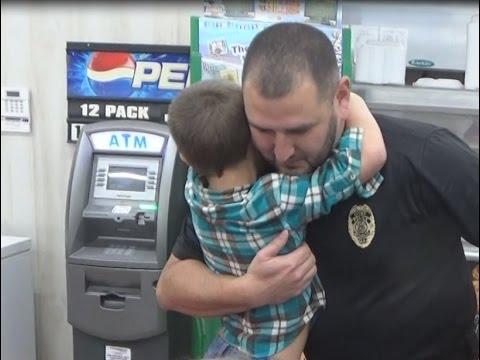 Nicholls Police Help Secret Santa