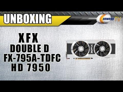 Newegg TV: XFX Double D FX-795A-TDFC Radeon HD 7950 Video Card Unboxing
