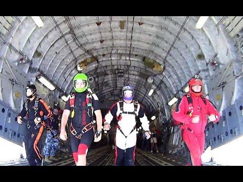 C17 Globemaster Skydive 2017