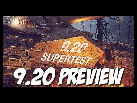► Update 9.20 Preview - New Chinese TDs, Game Mode, Features & More! - World of Tanks Patch 9.20